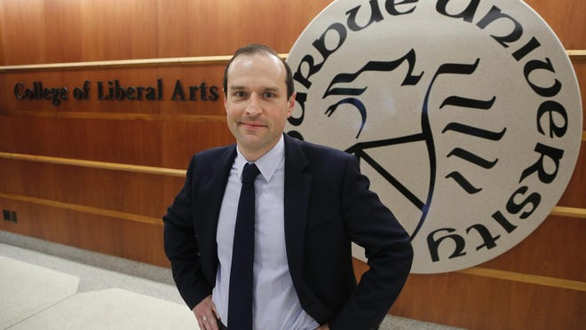 David Reingold, Dean of the College of Liberal Arts, Thursday, July 2, 2015, in Beering Hall on the campus of Purdue University.