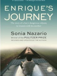 The cover for Enrique's Journey.