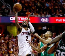 Irving took over in the second half and finished w...