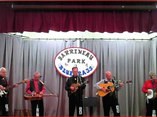 The Barrineau Park Annual Gathering will feature several gospel and bluegrass bands throughout the day.