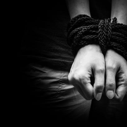 1,345 human trafficking cases have been reported this year alone in the United States.
