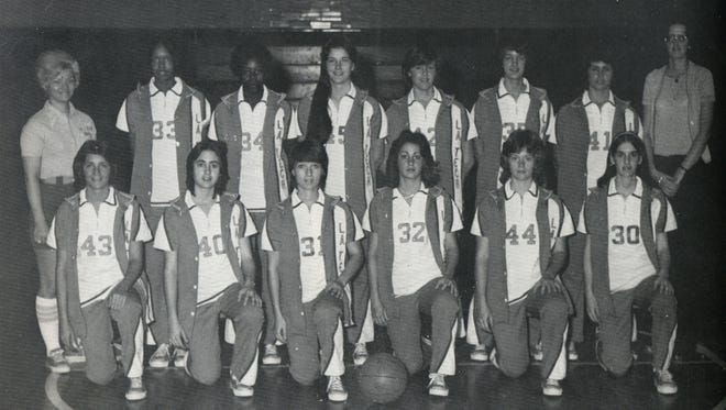 Pictured are members of the first Louisiana Tech women's basketball team in 1974-75. This group of Lady Techsters paved the way for next 40-plus years.