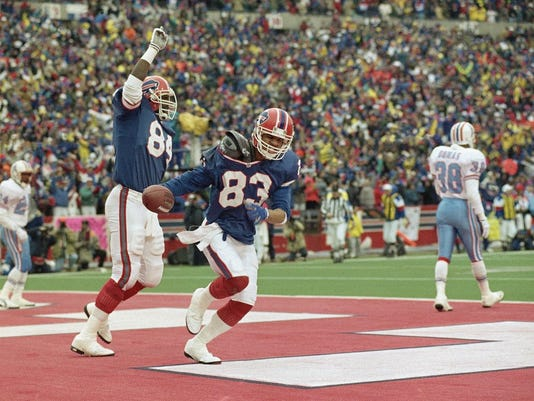 AFC Wild Card Oilers Bills 1993