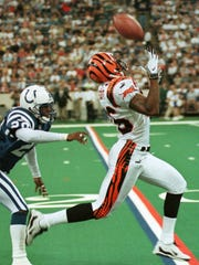 Cincinnati Bengals wide receiver Damay Scott was the