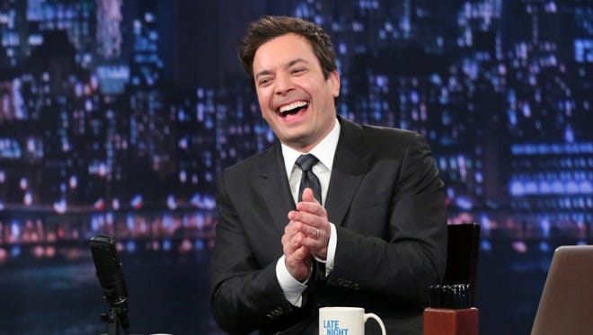 Jimmy Fallon hosts 'Late Night with Jimmy Fallon.'