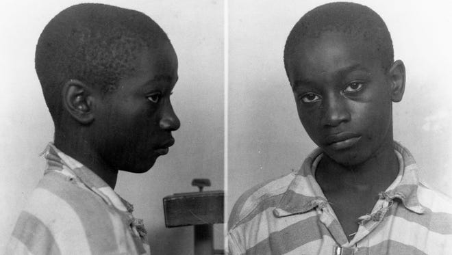 George Stinney Jr. was the youngest person ever executed in South Carolina when he was put to death in 1944. The black teen was found guilty of killing two white girls in a trial that lasted less than a day in the tiny Southern mill town of Alcolu.