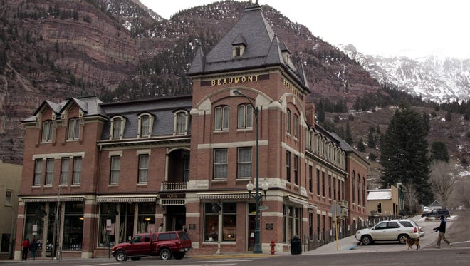 With a major ice-climbing park, therapeutic hot springs and charming Victorian architecture, Ouray, Colo., makes for an idyllic winter sanctuary.