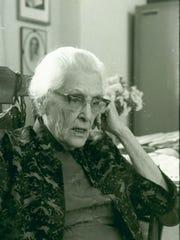 Virginia Jenckes in 1972