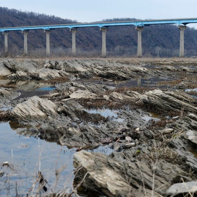 The Susquehanna River just below the Holtwood Dam,