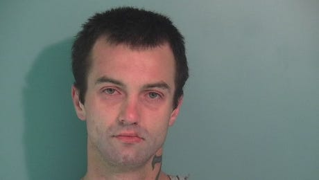 Lonnie Leon Larson, 26, was arrested following a high-speed chase from Monmouth the Salem.