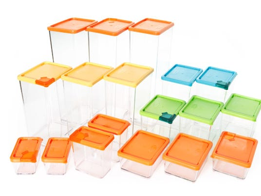 Refrigerator Food Storage Container Set 18 ea