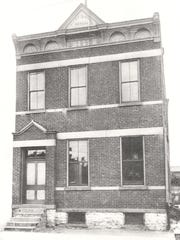 A 1908 image of Southgate School at 215 Southgate St.,