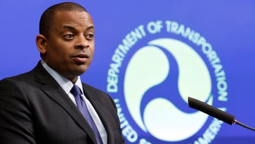 Transportation Secretary Anthony Foxx speaks during a news conference about Takata air bags last November