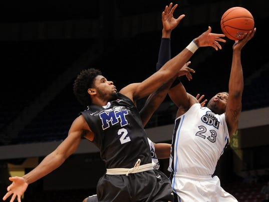 CUSA Middle Tennessee Old Dominion Basketball