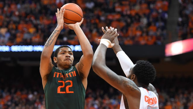 Former Miami forward Omar Sherman adds instant size and depth to Louisiana Tech's front court in the fall.