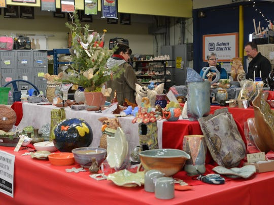 Shop at the Willamette Art Center's Holiday Sale from 10 a.m. to 5 p.m. Saturday, Dec. 1, and noon to 4 p.m. Sunday, Dec. 2.