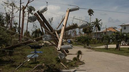 Hurricane Charley in 2004 left residents of Pine Island without power for a least a week, until crews could repair downed electric lines.