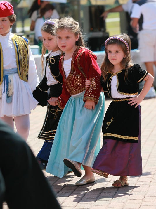 Greek Festival at the Civic Center of Anderson