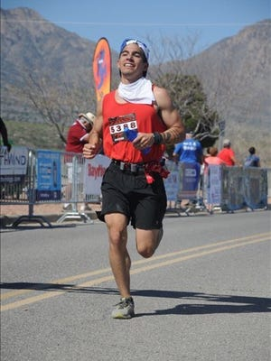 Daniel Soliz finished the 26.2-mile Bataan Death March in fourth place at 3 hours, 21 minutes and 32 seconds last weekend.