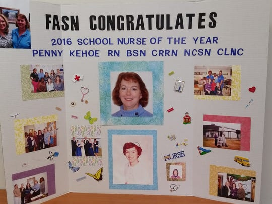 Penny Kehoe has been a nurse with Leon County Schools since 1990 and will compete for a national school nurse award this summer.