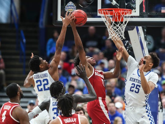 Alabama's Collin Sexton could be an option for the Knicks if they decide to draft a point guard.