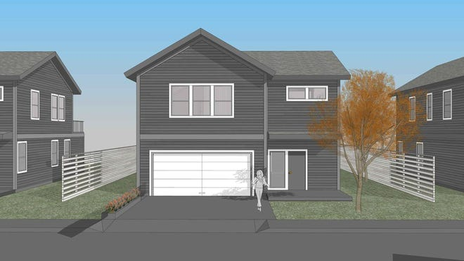 A developer is pushing a proposal to build 40 single-family home off Leather's Lane in Dover.