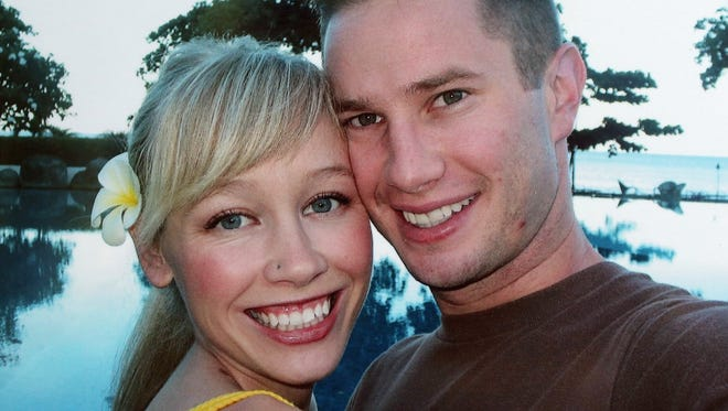 Sherri Papini went missing Nov. 2 from the area of Old Oregon Trail and Sunset Drive in Mountain Gate but was located Thanksgiving Day. She is pictured with her husband, Keith.