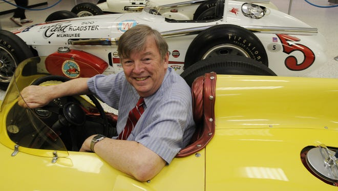 FILE – Few know the ins and outs of the Indy 500 quite like IMS historian Donald Davidson.