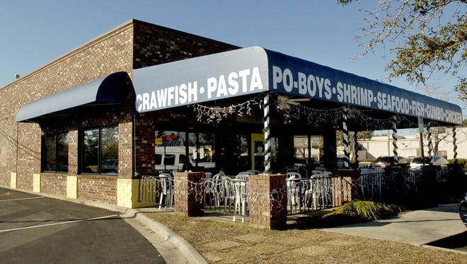 One of the Shrimp Basket's existing locations on Davis Highway in Pensacola.
