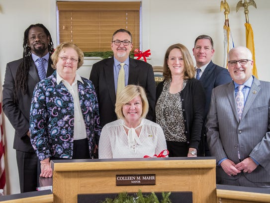 The Fanwood Borough Council held its reorganization