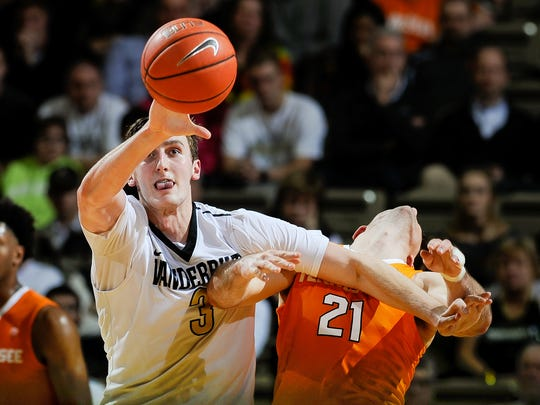Vanderbilt Commodores forward/center Luke Kornet (3)