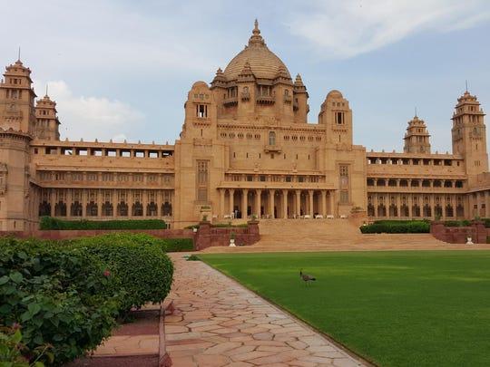 The Umaid Bhawan Palace Jodhpur in India is TripAdvisor's