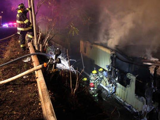 Major Fire At Aberdeen Warehouse