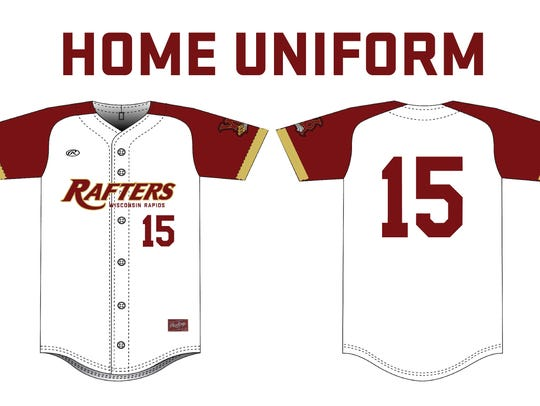 New home uniforms for Wisconsin Rapids Rafters