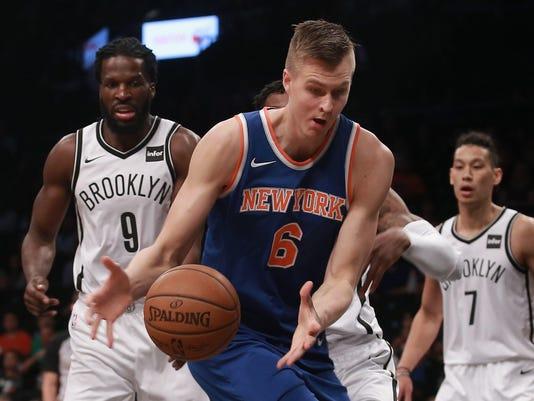 USP NBA PRESEASON NEW YORK KNICKS AT BROOKLYN NET S BKN BKN NYK USA NY