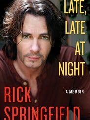 Cover of Rick Springfield's autobiography, Late, Late