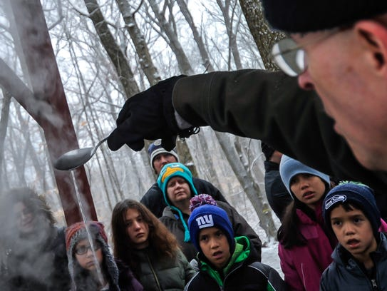 Sap And Maple Syrup And Tenafly Nature Center