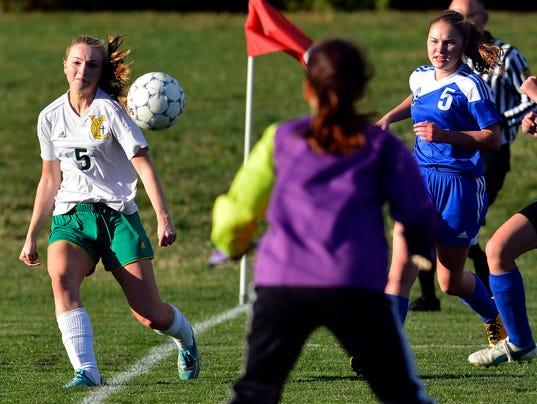 Harrisburg Christian vs York Catholic girls' soccer