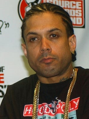Authorities say Benzino, here in October 2004, was shot and injured by his nephew while in a funeral procession for a family member in Massachusetts. The reality TV star and rapper, whose real name is Raymond Scott, is a cast member of the VH1 reality show 'Love & Hip Hop: Atlanta' and former co-owner of 'The Source' magazine.