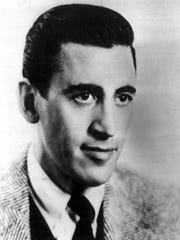 "J.D. Salinger, author of ""The Catcher in the Rye."""