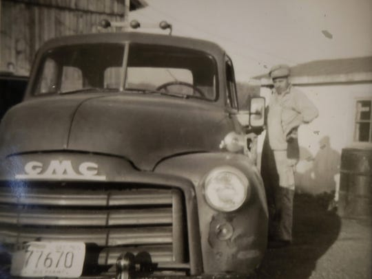 An  old picture of Emil Havlovitz, Matt's grandfather,