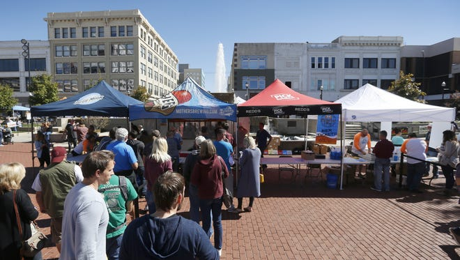 You can sample more than 100 craft beers (but maybe you shouldn't go quite that far) at the Springfield Craft Beer Bash Saturday on Park Central Square.