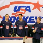 U.S. Olympic hockey jersey unveiled