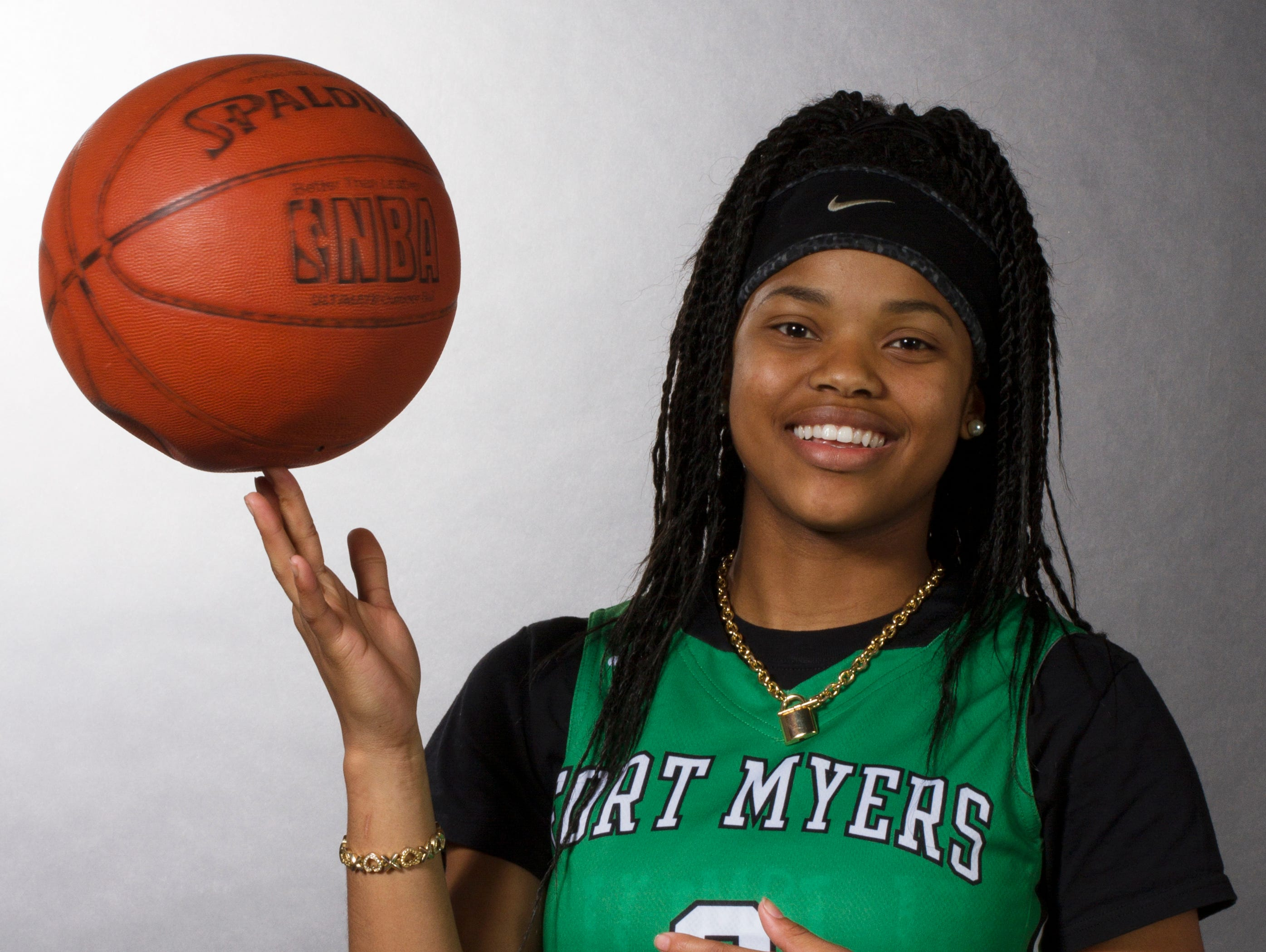 Destanni Henderson, 17, is a sophomore basketball player at Fort Myers High School.