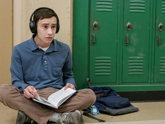 Keir Gilchrist plays Sam, a teen with autism, on Netflix's