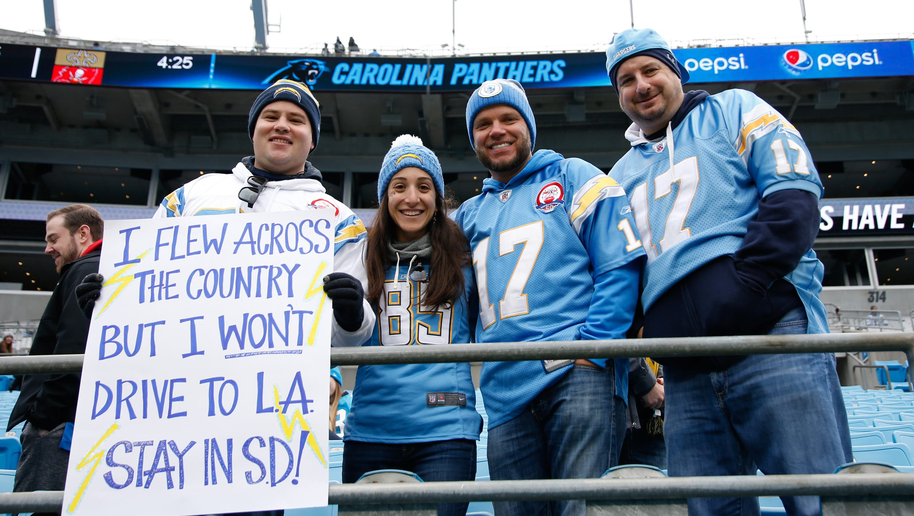Chargers Take Step Toward Possible Los Angeles Move