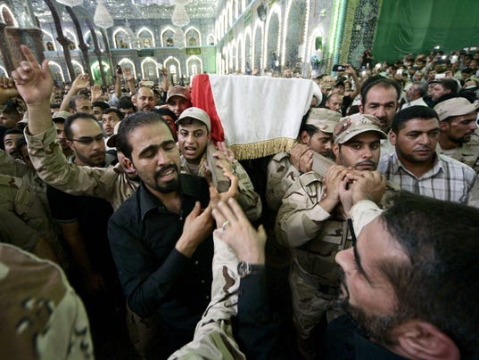 EPA IRAQ UNREST KARBALA