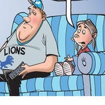 The winner of our Super Bowl LII cartoon caption contest