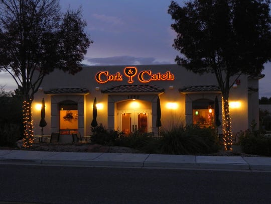 Cork and Catch is a bit off the beaten path in Cottonwood