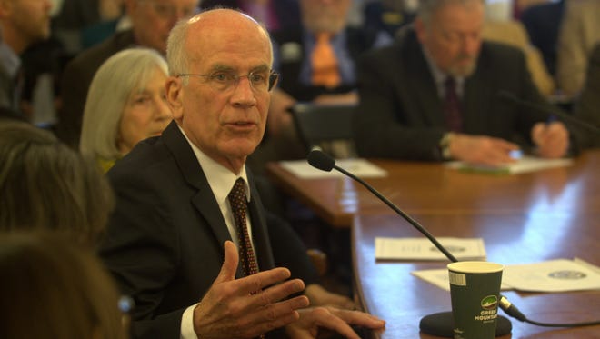 U.S. Rep. Peter Welch, D-Vt., speaks to members of the Vermont House of Representatives about the possible repeal of the Affordable Care Act on Jan. 18, 2017.